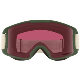 Oakley Line Miner Gafas de Nieve Jóvenes, rosa/Oliva